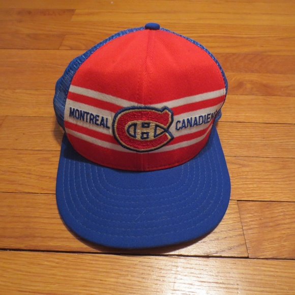 a45cb20a13ed41 Vintage Montreal Canadiens Hockey Snapback Hat. M_5a3afe2a61ca10a3ae005b41